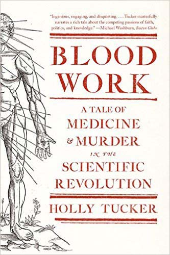 Blood Work by Holly Tucker Cover