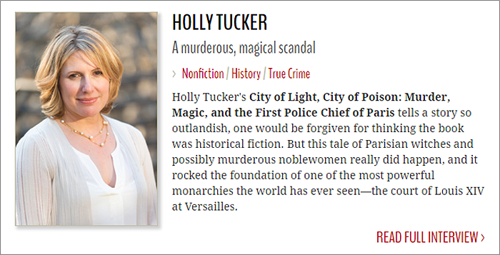 Holly Tucker BookPage Interview with Savanna Walker