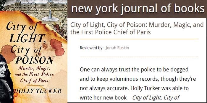 New York Journal of Books Review City of Light, City of Poison