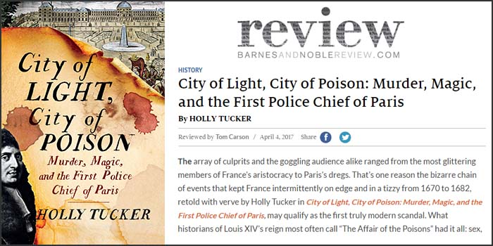 Barnes & Nobel Reviews City of Light!